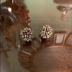 Betsey Johnson Statement Stud Earrings